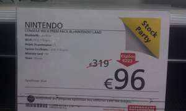 - nur in Griechenland - WiiU für 96 €