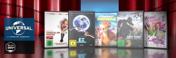 brands4friends: Universal Picture Filme - Licht aus, Film an!