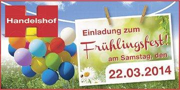 [offline] Handelshof Frühlingsfest mit diversen Freebies (deutschlandweit)