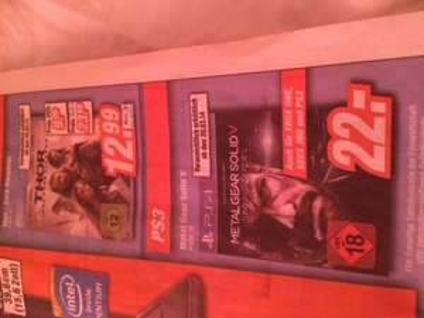 (Lokal) Metal Gear Solid für alle Konsolen 22€  in Bonn und Euskirchen