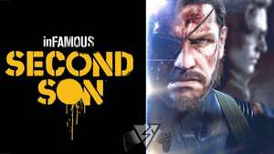 Infamous PS4 + Metal Gear Solid: Ground Zeroes PS4