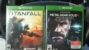 Titanfall XBOX one + Metal Gear Solid: Ground Zeroes