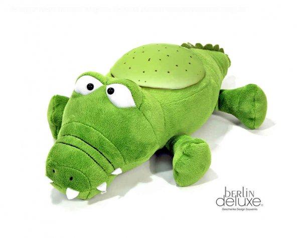 Krokodeal für die Kleinen - Kuscheltier & Nachtlicht