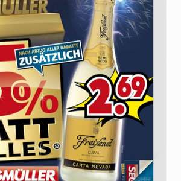 Lokal Mannheim und Nürnberg - Freixenet cava 2,69€