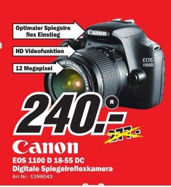 Lokal Halle  Canon EOS 1100D Kit 18-55 mm
