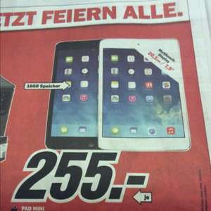 Lokal Apple iPad min 16GB - Media Markt Offenburg
