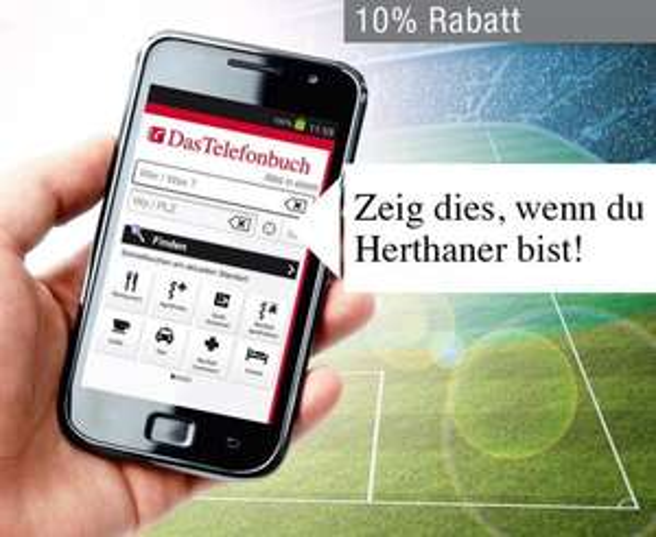 [LOKAL BERLIN] 10% Rabatt auf Fanartikel im Hertha Fan-Shop (für Smartphone/Tablet-Nutzer)