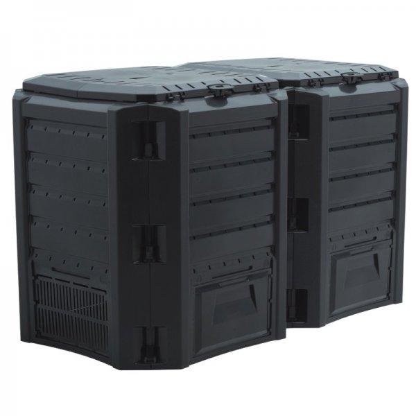 EBAY DEAL Kunststoff Komposter, Gartenkomposter, 800 Liter für 38,95€ inkl. Versan
