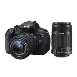 Canon EOS 700D + 18-55mm IS STM +55-250mm IS STM