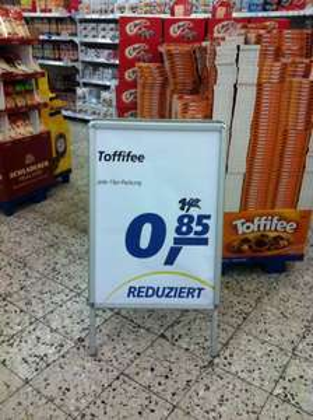 Toffifee 15 er Packung (125g) 0,85€ statt 1,09€ bei real  [lokal Schleswig]