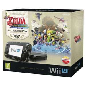Nintendo Wii U Premium Pack + Zelda The WindWaker HD für 199€ @Media Markt