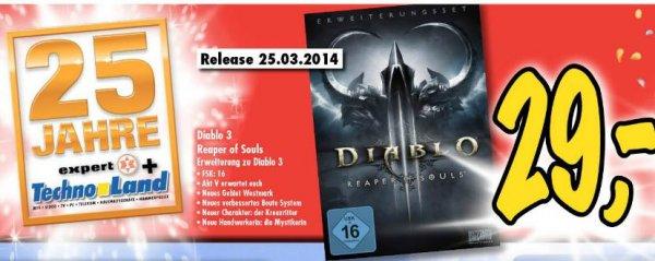 [Lokal Deizisau] Technoland: Diablo III - Reaper of Souls für 29,00 €