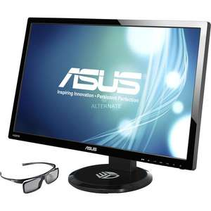 [ebay.de] 27 Zoll ASUS 3D LED Monitor VG27AH mit IPS Panel + Brille für 249,90 € / idealo 299 €