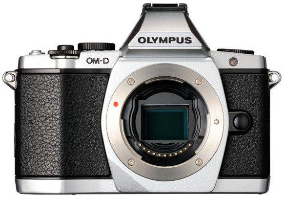 Olympus OM-D E-M5 Body in Silber oder schwarz