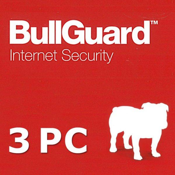 BullGuard Internet Security Version 12, 1 Jahr, 3 PCs DE - kostenloses Upgrade auf Version 14