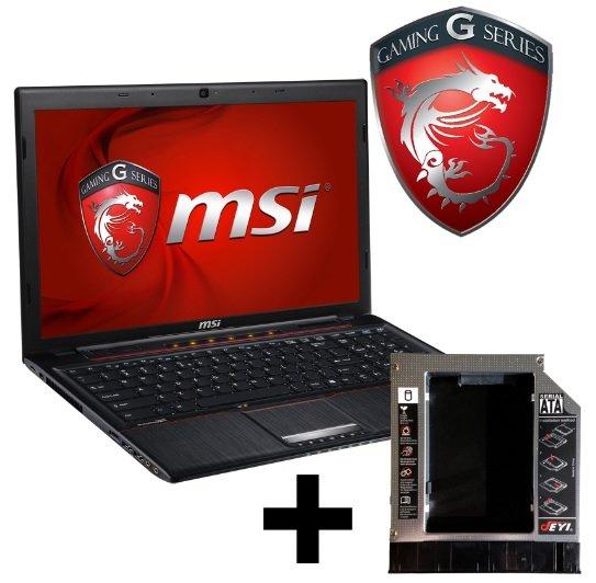 MSI GP60-i740M245FD Notebook + MSI GP60 HDD Einbaurahmen für 639,- Euro @notebooksbilliger.de