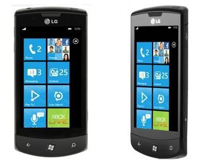 LG E900 OPTIMUS 7 Smartphone 16GB [@meinpaket.de]