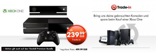 XboxOne inkl. FIFA oder Titanfall ab 239,99 bei Trade-In Aktion von GameStop