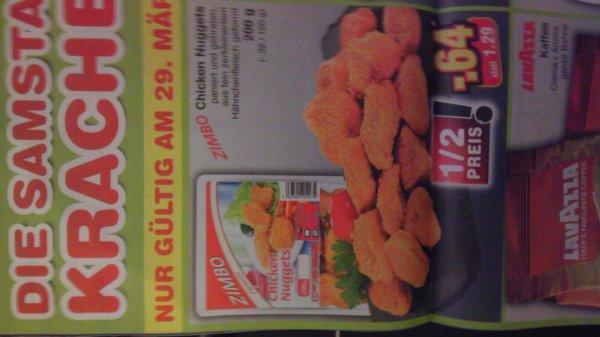 Netto Marken Discount : Zimbo Chicken Nuggets 200g für 64 Cent am 29.3