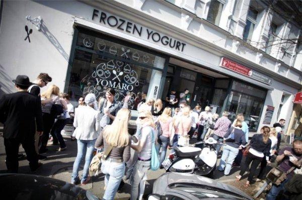 YOMARO Düsseldorf - Gratis Frozen Yogurt für jeden ab 12h