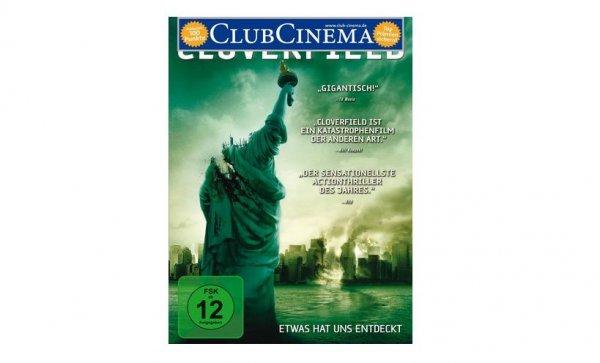 (Media Markt Online ) Wieder verfügbar Cloverfield Steelbook Science Fiction DVD Vsk 2,99 € ! Bei Abholung 1 €
