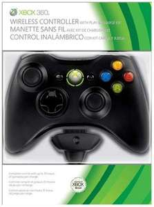Xbox 360 Wireless Controller mit Play and Charge Kit