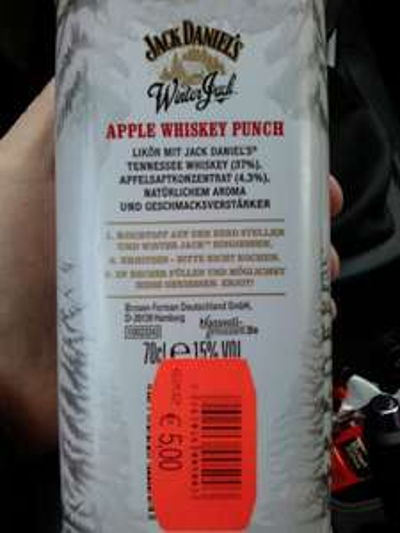 [Famila Altenholz] Jack Daniels Winter Jack
