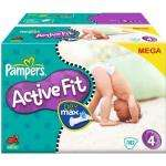Pampers Active Fit z.B. Gr.4 7-18 kg Megapack, 102 Stück @ Amazon  18,96€/St. 0,19€
