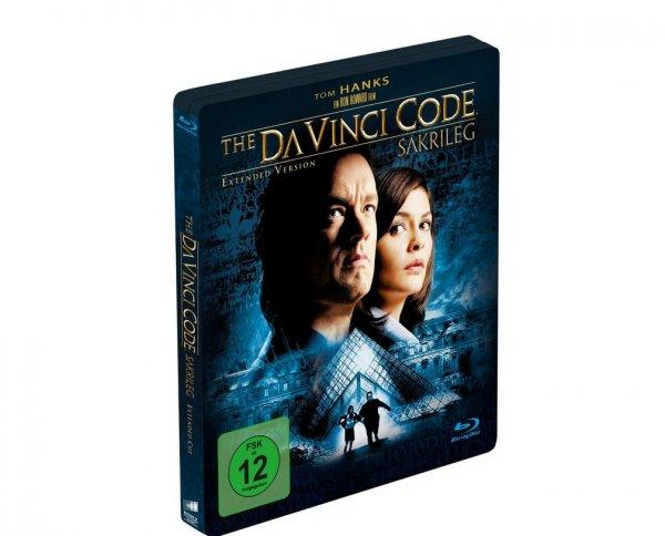 (Media Markt Online)The Da Vinci Code - Sakrileg (Limited Steelbook Edition) Thriller Blu-ray ab 20 Uhr