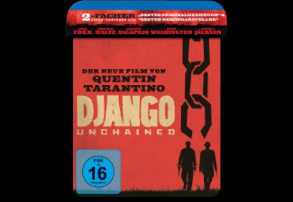 Django Unchained Steelbook Blu Ray