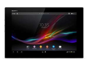 Sony Xperia Tablet Z SGP311 inkl. Gratis Sony SGPDS5 Cradle Dockingstation  25,7 cm (10,1 Zoll) Tablet-PC (Qualcomm Snapdragon S4 Pro, Cortex A9, Quad Core, 1,5GHz, 2GB RAM, 16GB HDD, Android OS 4) schwarz