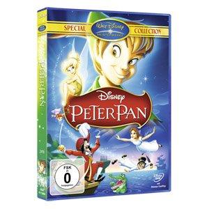 Diverse Disney DVDs im real,- Onlineshop jetzt für 6,99€ (als Beispiel Peter Pan verlinkt)