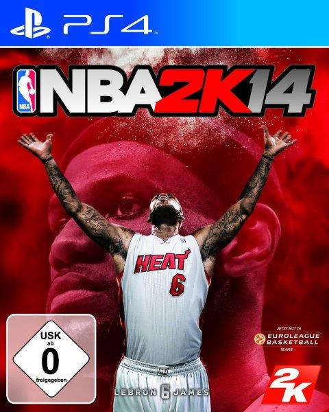 NBA 2K14 für PS4 oder XBox One @ Saturn.de ab 30,00 EUR