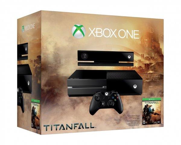 Microsoft Xbox One 500GB + Titanfall @Amazon.com