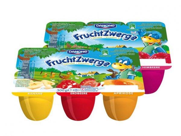 Danone FruchtZwerge (6er=300g) für 0,74€ bei Lidl
