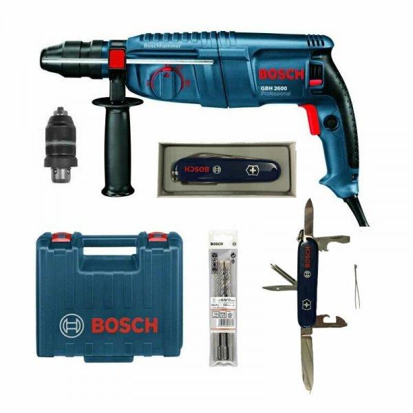 Bosch GBH 2600 Professional + Zubehörset @ebayWOW