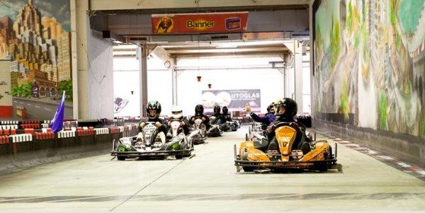 [Karlsruhe] Kart fahren für 6 Personen für 110 Euro - Qualifying + Racerunden + Getränke
