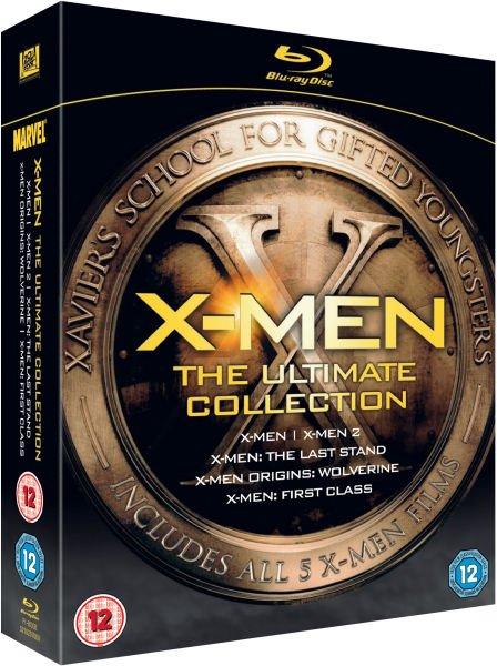 Blu-ray Box - X-Men: Ultimate Collection (5 Discs) ab €17,69 [@Zavvi.com]