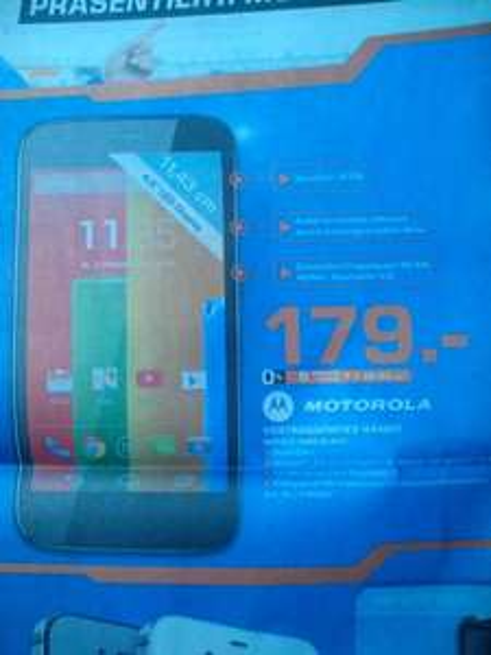 [Saturn Bremerhaven] Motorola Moto G 16 GB Black