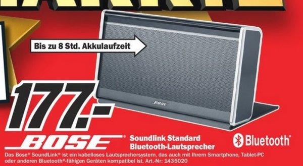Bose SoundLink Bluetooth Mobile Speaker II für 177€ Lokal [Mediamarkt Krefeld]