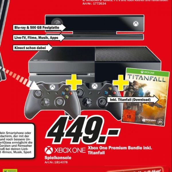 [Lokal MM Koblenz/Neuwied] Xbox One - Titanfall-Edition inkl. 2 Controllern