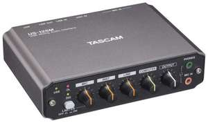 Tascam US-125M USB Audiointerface (DAC/ADC)