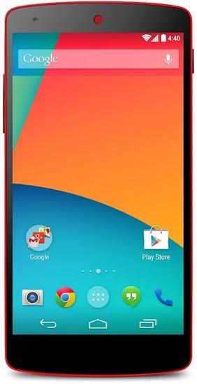 LG D821 Google Nexus 5 16GB Rot @ GETGOODS 322,90€