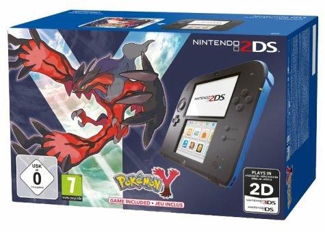 [Buecher.de] Nintendo 2DS black&blue + Pokémon Y (Limited Edition) für 129 € ohne Vsk