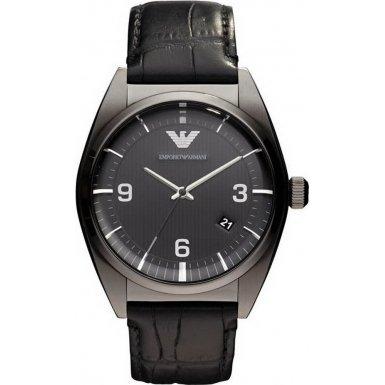 ARMANI HERRENUHR AR0368 für 110 € - Leder Armbanduhr - @Amazon