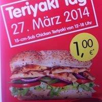 [Lokal Subway Erfurt] Chicken Teriyaki Sub 15cm 1€ am 27.03.2014
