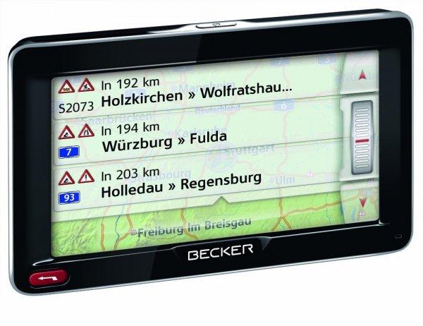 Becker Professional 50 LMU Navigationsgerät (12,7 cm (5'') Bildschirm, 44 Länder vorinstalliert @amazon