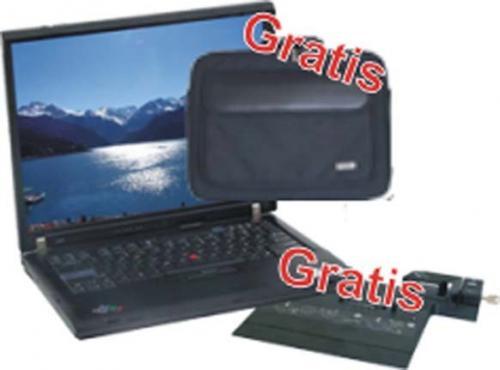 Laptop IBM Thinkpad R60 Core 2 Duo T5500 mit Tasche und Dockingstation