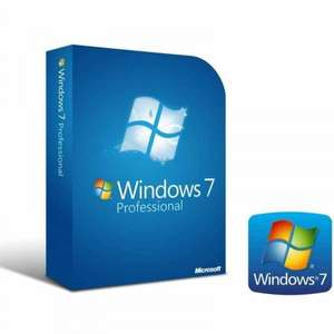 Windows 7 Professional 32/64 Bit SP 1 VOLLVERSION COA + DVD Mehrsprachig ML Nur 28,99 €