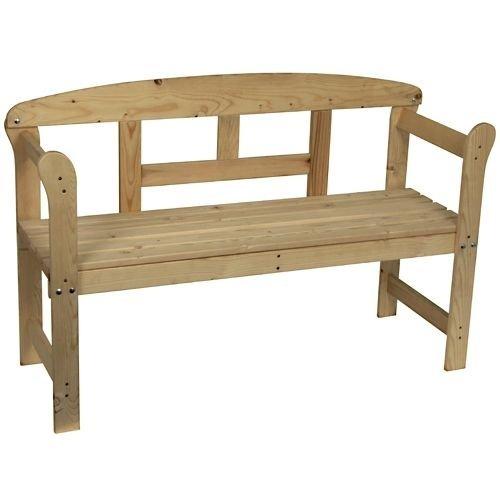 [Offline] 2 Sitzer Gartenbank für 16€ in diversen Baumärkten (B1 / Toom)